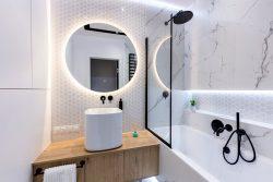 urządzenie łazienki